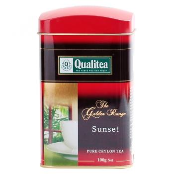 Чай черный Qualitea Sunset крупнолистовой 100г - купить, цены на ЕКО Маркет - фото 3