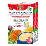 Каша кукурудзяна Golden Kings of Ukraine з меленими ядрами гарбузового насіння, меленим насінням розторопші і кунжуту 385г