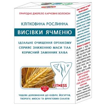 Клітковина Golden Kings Of Ukraine дієтична з ячменю 160г - купити, ціни на Ашан - фото 1