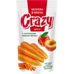 Морковь вяленая Crazy Фрутс с натуральным соком персика 75г