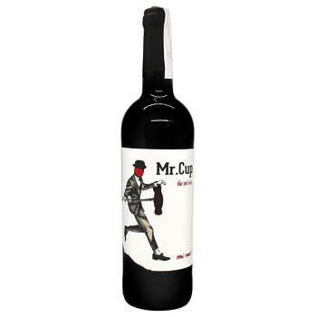 Вино Mr. Cup 0,75 л н/сол. червон. (Іспанія)