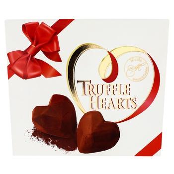 Цукерки Марія Truffle Hearts шоколадні 120г - купити, ціни на ЕКО Маркет - фото 1
