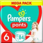 Подгузники трусики Pampers 15+кг 84шт