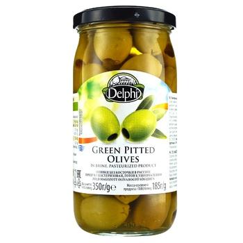 Оливки Delphi без косточки в рассоле 350г