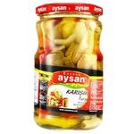Овощное ассорти Aysan 680г - купить, цены на Ашан - фото 1