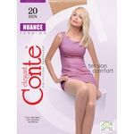 Conte Nuance 20 Den Nero Tights for Women Size 3