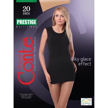 Колготы женские Conte Prestige 20ден р.4 Nero