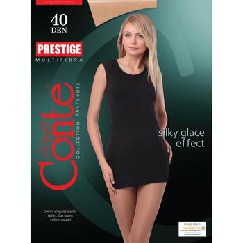 Колготы женские Conte Prestige 40ден р.2 Shade