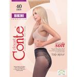 Колготы женские Conte Bikini 40ден р.3 Bronz
