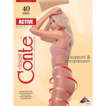 Колготи жiночi Conte Active Bronz 40ден р.2 Bronz - купити, ціни на CітіМаркет - фото 1