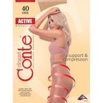 Tights Conte Active sheid polyamide for women 40den 3size Belarus