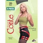 Колготы женские Conte X-Press 20ден р.4 Nero