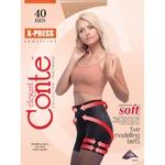 Колготы женские Conte X-Press 40ден р.3 Bronz