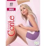 Колготы женские Conte Solo 40ден р.4 Natural