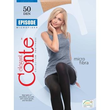 Conte Episode Nero 50den Tights for Women Size 4