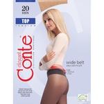 Колготи жіночі Conte Top 20ден р.4 Bronz