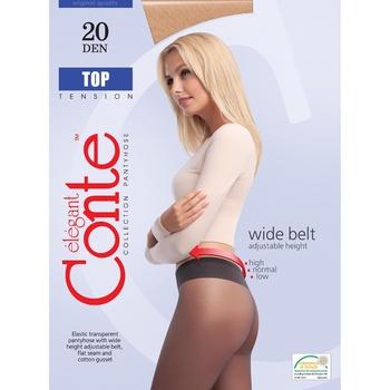 Колготы женские Conte Top 20ден р.4 Nero - купить, цены на УльтраМаркет - фото 1