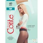 Колготы женские Conte Top 40ден р.2 Bronz