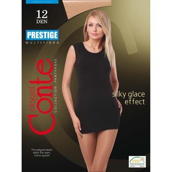 Колготы женские Conte Prestige 12ден р.5 Natural