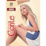 Колготки жіночі Conte Solo 20ден р.3 Grafit