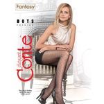 Колготки женские Conte Fantasy Dots 20ден р.4 Nero