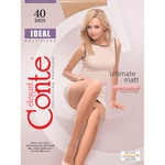 Conte Ideal Nero 40den Tights for Women Size 4