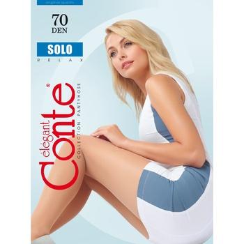 Колготки жіночі Conte Solo 70ден р.3 Nero - купити, ціни на УльтраМаркет - фото 1