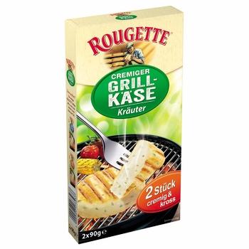 Сыр Rougette Cremiger Грилькейс с травами 55% 2*90г