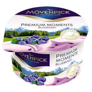 Йогурт Mövenpick Premium Moments Черника 5% 100г - купить, цены на Восторг - фото 1