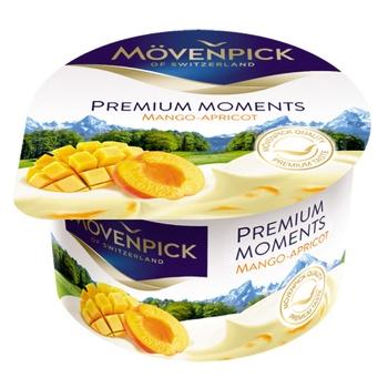 Йогурт Movenpick Premium Moments Манго-Абрикос 5% 100г - купить, цены на Восторг - фото 1