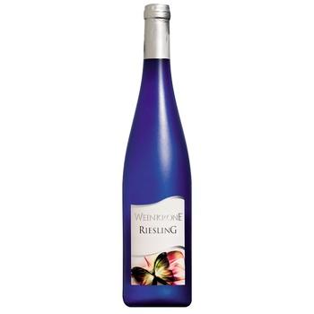 Dr. Zenzen Weinkrone Riesling Wine white semi-dry 11,5% 0,75l - buy, prices for CityMarket - photo 1