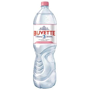 Вода Buvette Vital мінеральна негазована 1,5л - купити, ціни на УльтраМаркет - фото 1