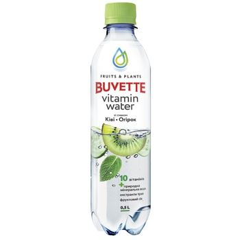 Напій Buvette соковмісний зі смаком ківі та огірка 0,5л - купити, ціни на Ашан - фото 1