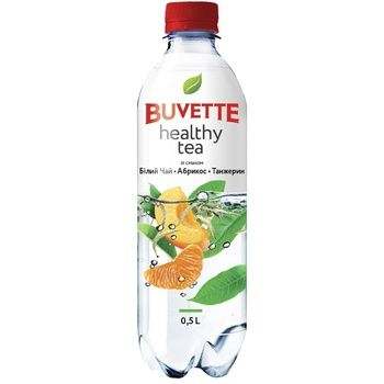 Buvette Healthy tea Drink with white tea apricot and tangerine 0,5l - buy, prices for Metro - photo 1