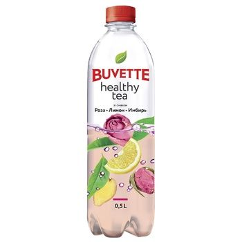 Buvette Healthy Tea Rose Lemon Ginger Non-Carbonated Drink 500ml