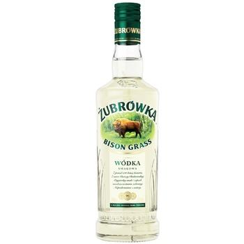 Zubrowka Bison Grass Vodka 37,5% 0,5l - buy, prices for Auchan - photo 1
