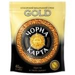 Кофе Чорна Карта Gold растворимый 40г