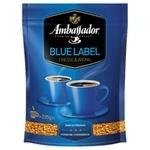 Кофе Ambassador Blue Label растворимый 205г