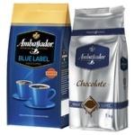Кофе Ambassador с сухим шоколадом 1+1кг