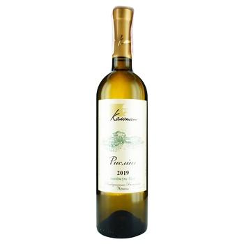 Вино Колоніст Рислінг біле напівсухе 11% 0.75л