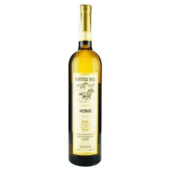 Kartuli Vazi Merani White Semi-dry Wine 11% 0,75l