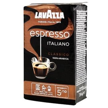 Lavazza Espresso Ground Coffee 250g - buy, prices for CityMarket - photo 1