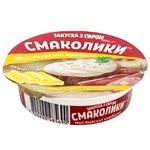 Закуска с сыром Тульчинка Смаколики Охотничьи колбаски 55% 90г