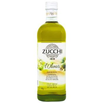 Олія Zucchi Оліяр оливкова рафінов.скл 1000мл - купити, ціни на CітіМаркет - фото 1