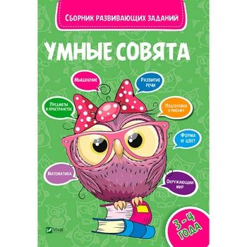 Clever Owls Book 3-4 years