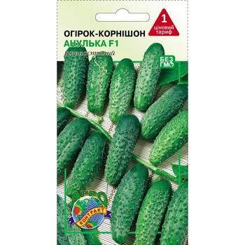 Семена Агроконтракт Огурцы Анулька 0,5г - купить, цены на ЕКО Маркет - фото 1