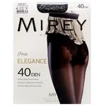 Колготы Mirey Elegance 40Den женские р.5 Nero
