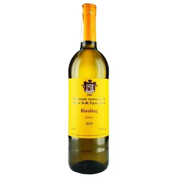 Vynorobne hospodarstvo Knyazya P.N.Trubetskaho Riesling Wine natural white dry  12% 0,75l - buy, prices for EKO Market - photo 1