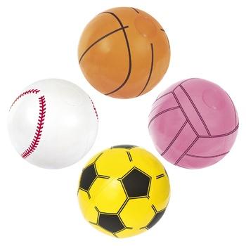 Мяч Bestway Sport пляжный надувной 41см