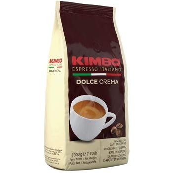 Кофе Kimbo Dolce Crema в зернах 1кг - купить, цены на Метро - фото 1